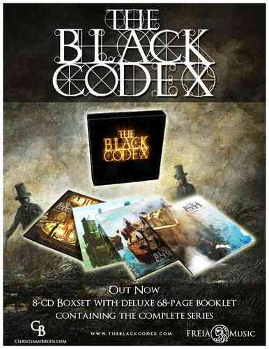 THE BLACK CODEX - Box Set Episodes 1 - 52 - 8CDs