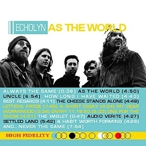 ECHOLYN - As The World CD + DVD