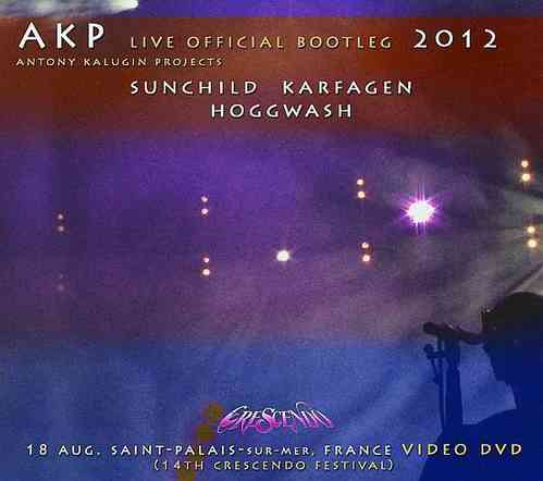 ANTONY KALUGIN PROJECTS - Live at Crescendo 2012 DVD