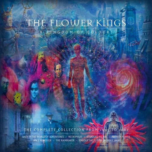 THE FLOWER KINGS - A Kingdom Of Colours (1995 - 2002) Ltd. 10CD Box Set