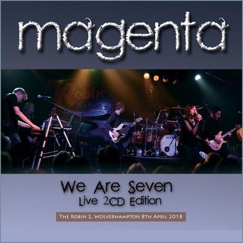 MAGENTA - We Are Seven LIVE 2CD