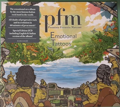 PFM - Emotional Tattoos 2CD
